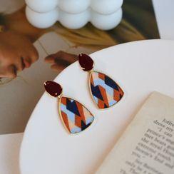 MOMENT OF LOVE - Print Alloy Dangle Earring