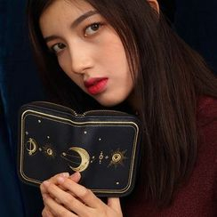 Nibby - Moon Embroidered Wallet