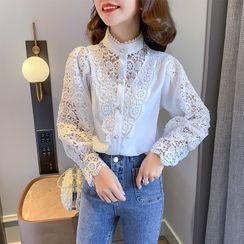 SUMMO - 蕾絲襯衫