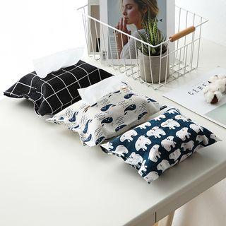 Porcini - Printed Fabric Tissue Cover