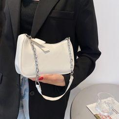 mizandrus - Chain Zip Shoulder Bag