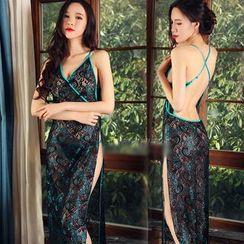 Merone - Lace Lingerie Nightdress