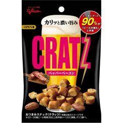 Glico - CRATZ Pepper Barbecue Flavor Almond Beer Snack 42g