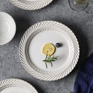 Kawa Simaya - Plain Ceramic Bowl / Plate