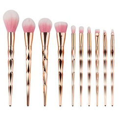 Stroke of Beauty - Set of 10: Makeup Brushes
