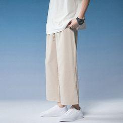 Obikan - Wide-Leg Linen Pants