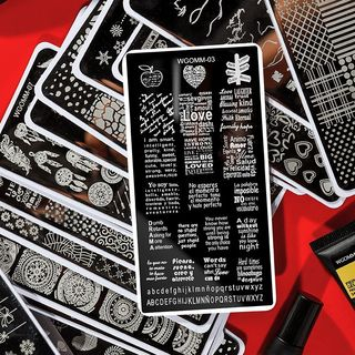WGOMM - Nail Art Print Stamp