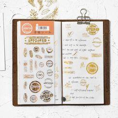 Tivi Boutique - Metallic Sticker