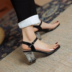 Kireina - Block Heel Sandals