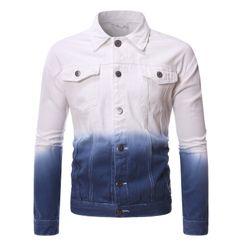 Andrei - Gradient Color Denim Jacket
