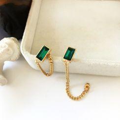 Yambo - Gemstone Chain Earring