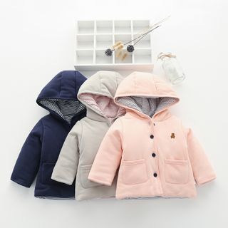 MOM Kiss - Baby Hooded Jacket