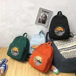 Mulgam - Printed Nylon Backpack