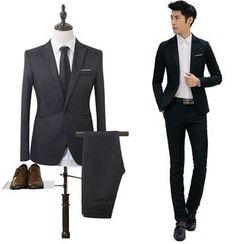 YIKES - 套装: 西装外套 + 西裤