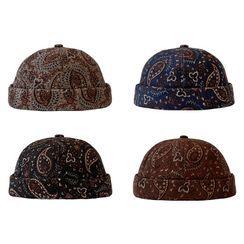 Heloi - Printed Brimless Hat