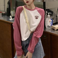 Dute - Long-Sleeve Raglan T-Shirt