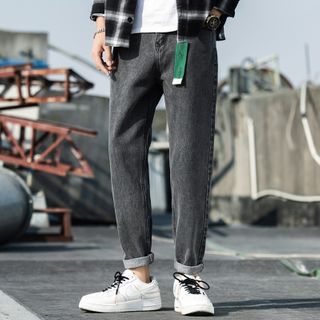 East Wolf - Washed Straight-Fit Jeans