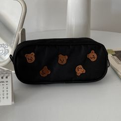 Geolte - Embroidered Pencil Case