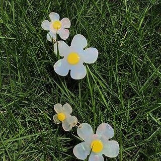 EBIZA - Resin Flower Drop Earring