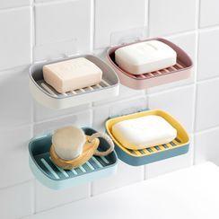 Home Simply - 肥皂黏墙塑胶架