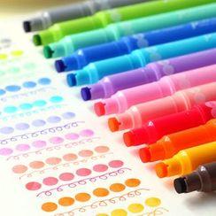 Nina's House - Colored Pen