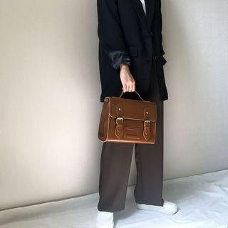 Minafox - Faux Leather Satchel bag