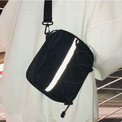 SUNMAN - Square Mini Canvas Crossbody Bag