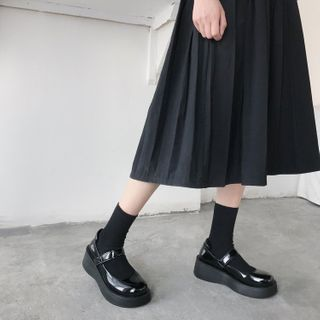 Stevvi - Platform Mary Jane Shoes