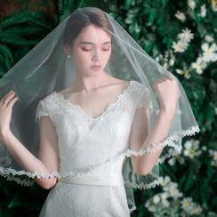 Nymphie - Mesh Wedding Veil