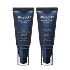 MISSHA(ミシャ) - Men's Cure All Day Natural Fit BB Cream - 2 Colors