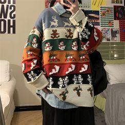 Breeson - Printed Sweater