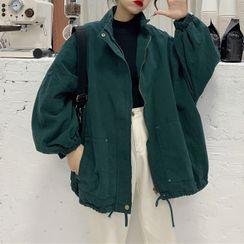 Fabricino - Drawcord Hem Jacket