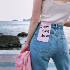 chuu - Semi Baggy-Fit -5kg Jeans vol.95
