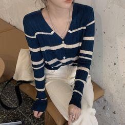 Magimomo - Striped Cardigan