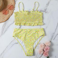 CUCURBIT - Floral Print Bikini Set