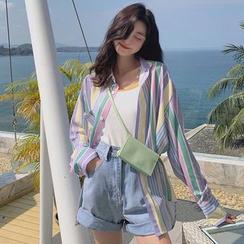 Paila - 长袖条纹衬衫