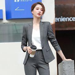 Skyheart - 单扣西装外套 / 西裤 / 套装