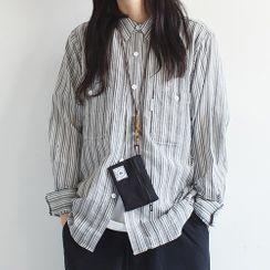 Goshaku - 格子鈕扣襯衫