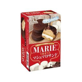 Morinaga - [Limited] Marie Marshmallow Sandwich Chocolate Pie 80g