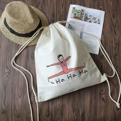 Sacculi - 帆布抽繩包