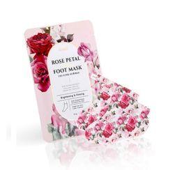 PETITFEE - Rose Petal Satin Foot Mask