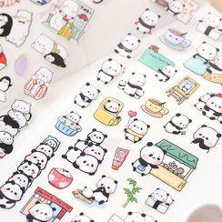 Cute Essentials - Cartoon-Aufkleber (verschiedene Designs)