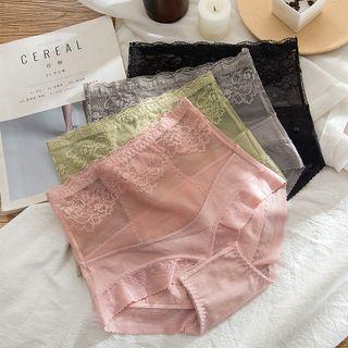 MEZU - Lace Trim  Shaping Panties