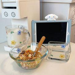 Intimo - Floral Print Glass Bowl / Mug / Plate