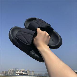 Filmas - Adhesive Tab Flat Slide Sandals