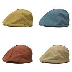 Heloi - 純色貝雷帽