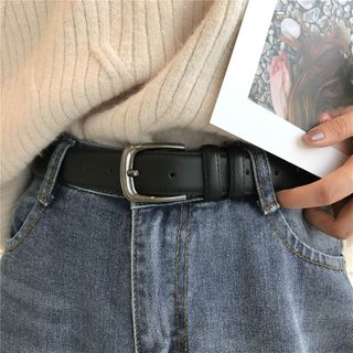 Lunashore - Faux Leather Belt