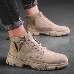 HANO - 繫帶短靴
