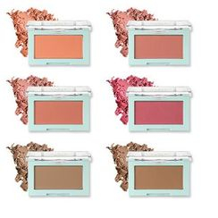 LIME - Color And Face Single Blusher - 6 Colors
