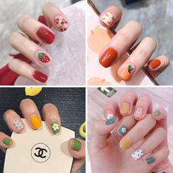 Baburu - Printed Nail Art Stickers